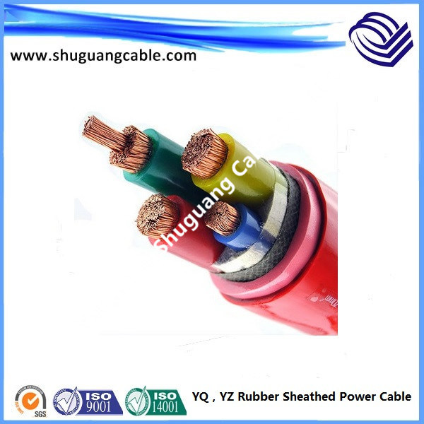 China Medium Duty Soft Rubber Sheath Electric Power Cable - China ...