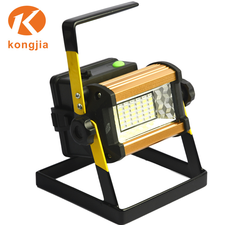 Hot Item 36cob Flood Lights Portable Outdoor Lighting Led Rechargeable Searchlight