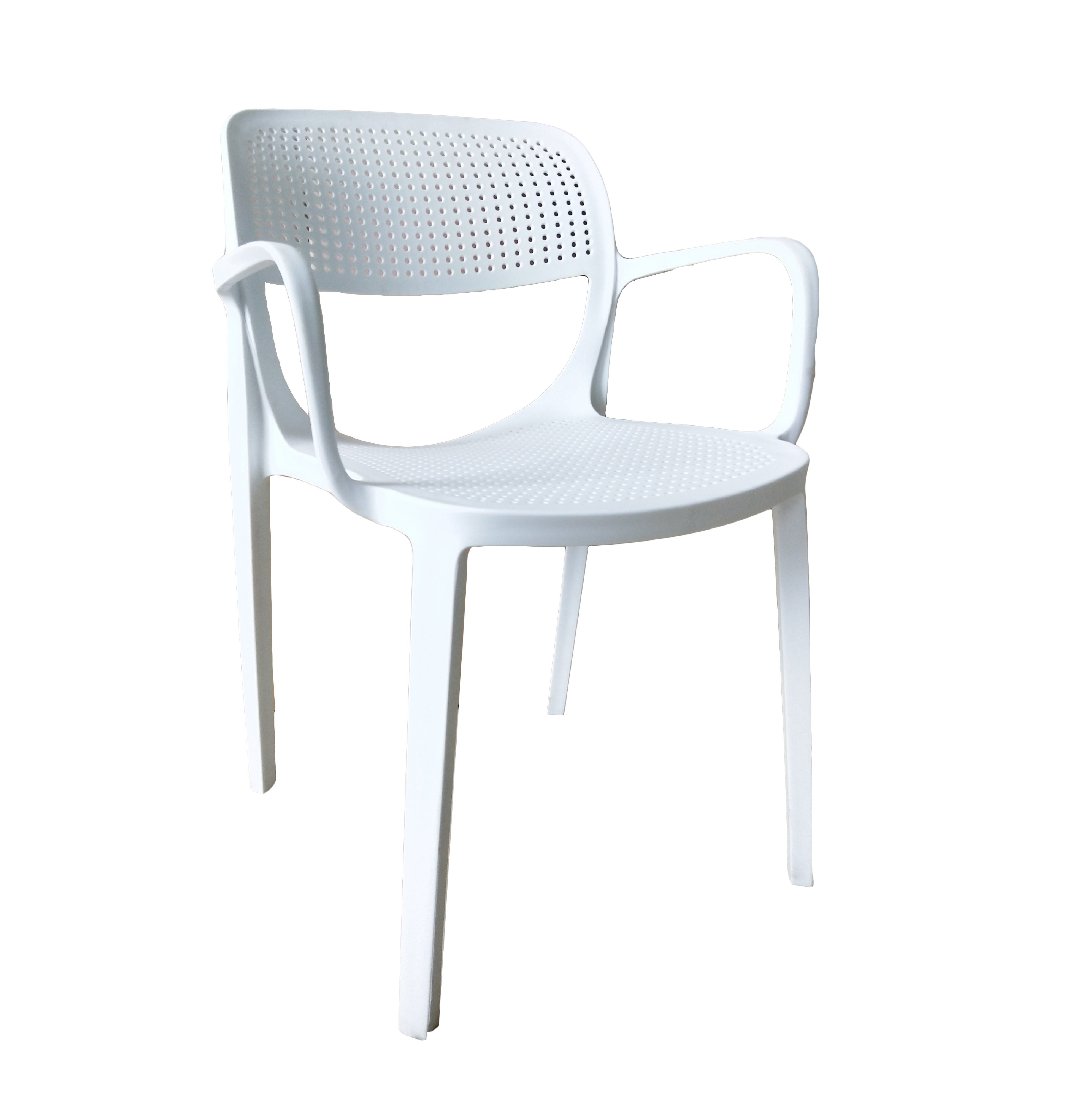 Hot Item White Dining Room Chairs Comfy Armchair Plastic Stacking Stools