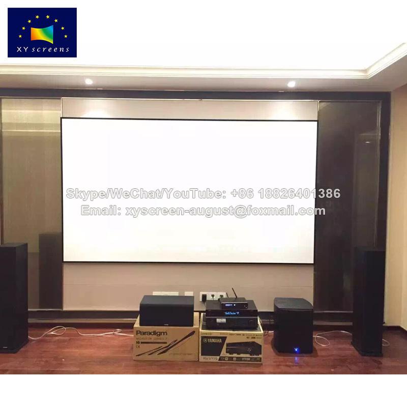 Hot Item Xyscreen 120 16 9 Narrow Frame Diy Projector Screen For Cinema Projector