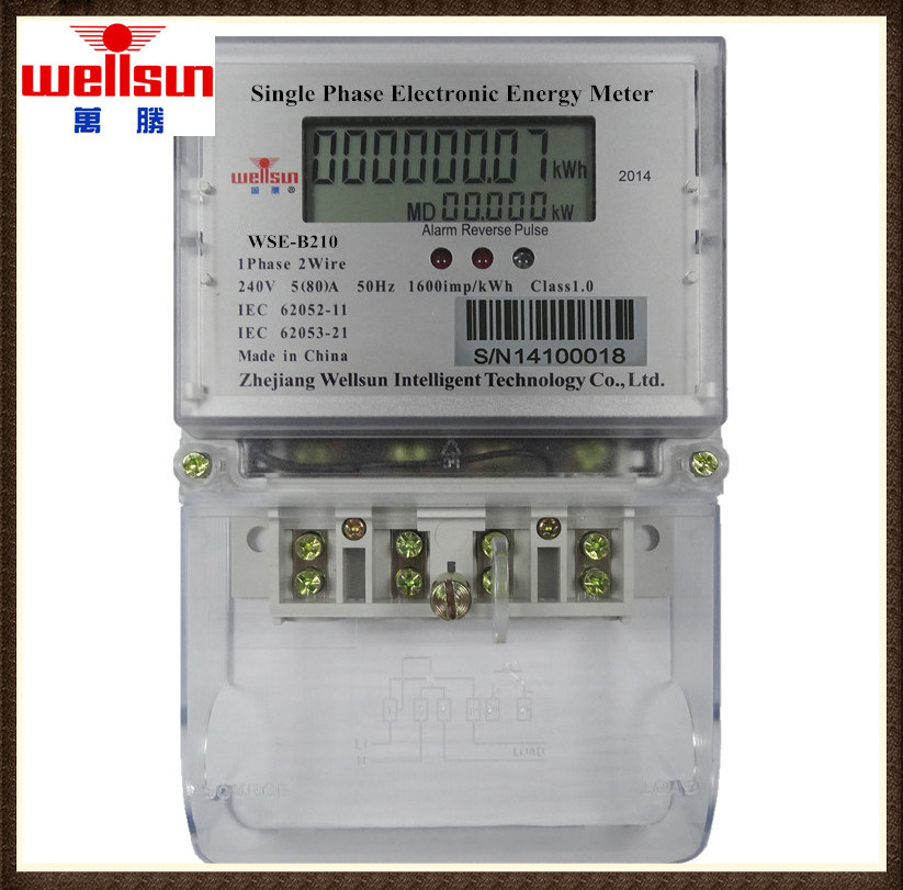China Single Phase Double Neutral Missing Energy Meter - China Three ...