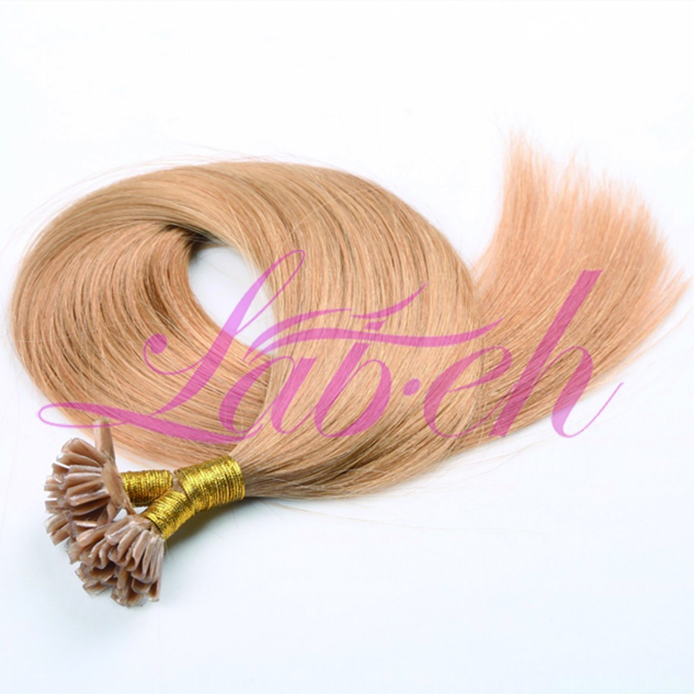 China Remy Pre Bonded Human Hair Extension In Silky Straight Photos