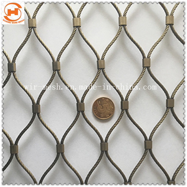 China Knitting Stainless Steel Wire Rope Mesh Photos & Pictures ...