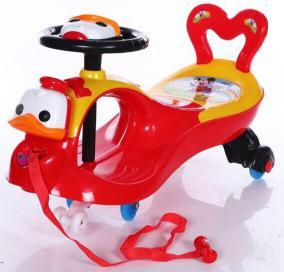 Lovely Plastic Baby Swing Car for Kids Ride on Car Ks-25 pictures & photos