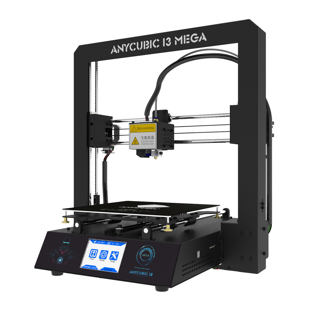 Mini 3D Printer - 5.9′′ X 5.9′′ X 5.9′′ Build Volume (Includes Non-Toxic PLA Filament, Printer Enclosure, Print Bed Tape, Cables & Power Ad