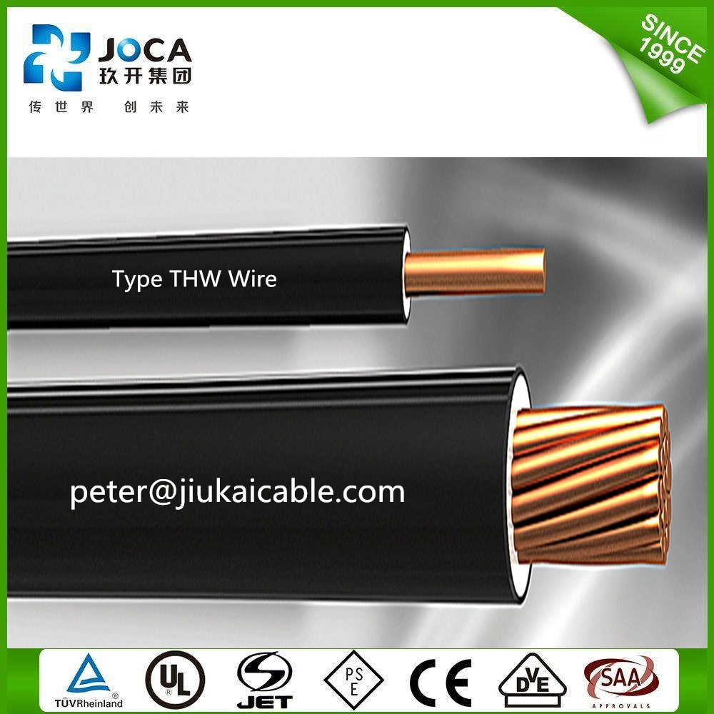 China Ul Standard Awg Building Electric Cable Wire Thw Photos Copper Electrical Xhhw