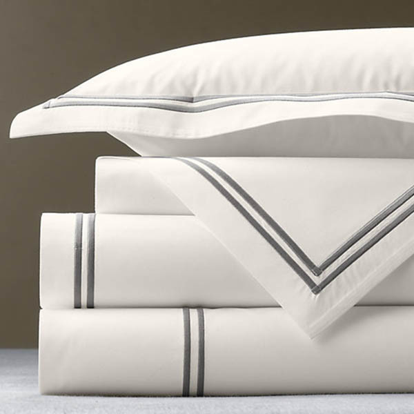 Okeo-Tex SGS Double Certified Hotel Luxury White Cotton Bedding Set