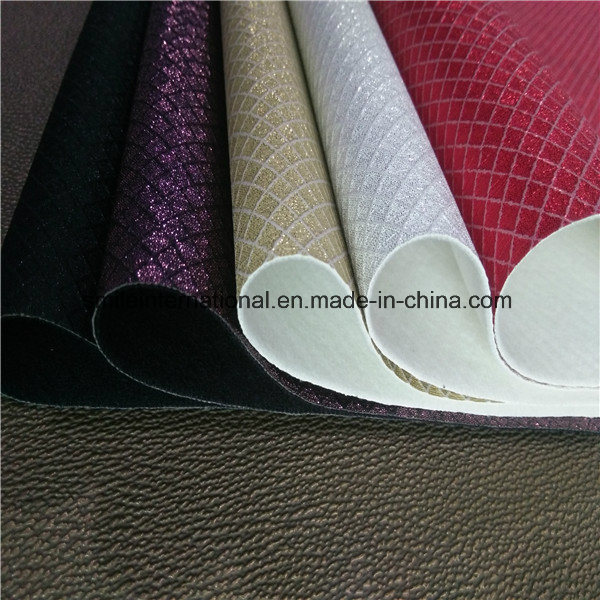 Digital Printing PU Leather for Handbags and Shoes pictures & photos