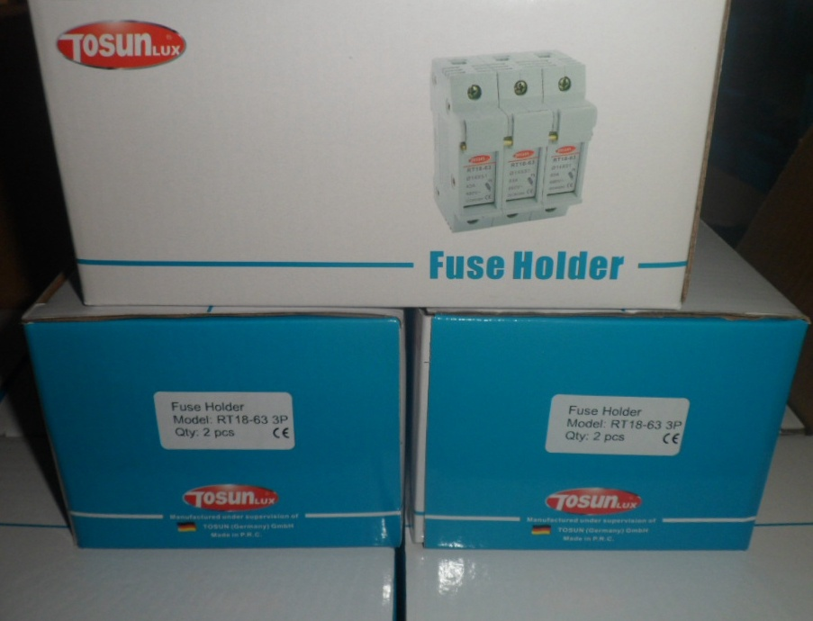 DIN Rail Mountable CE Certified Fuse Holder pictures & photos