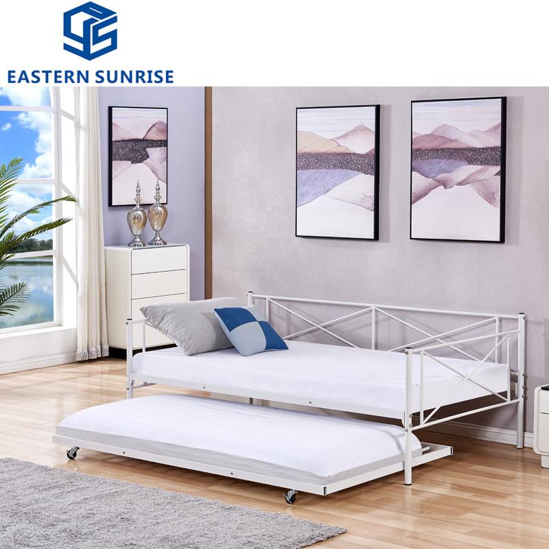 Metal Frame Single Sofa Bed