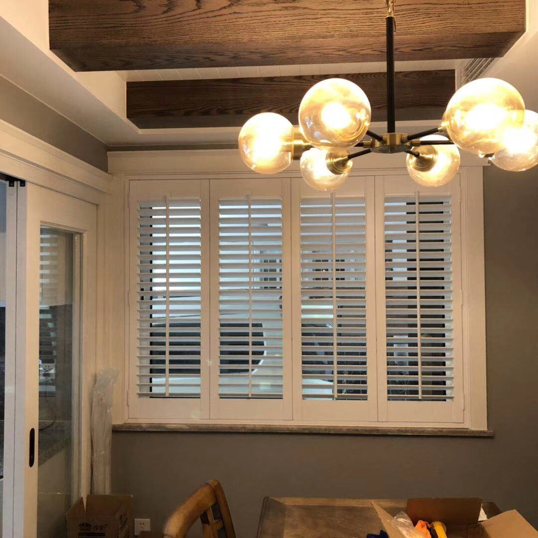 Hot Item 2019 Data Entry Work Supply Interior Basswood Shutters Home Factory Directly Security Window Plantation Shutter