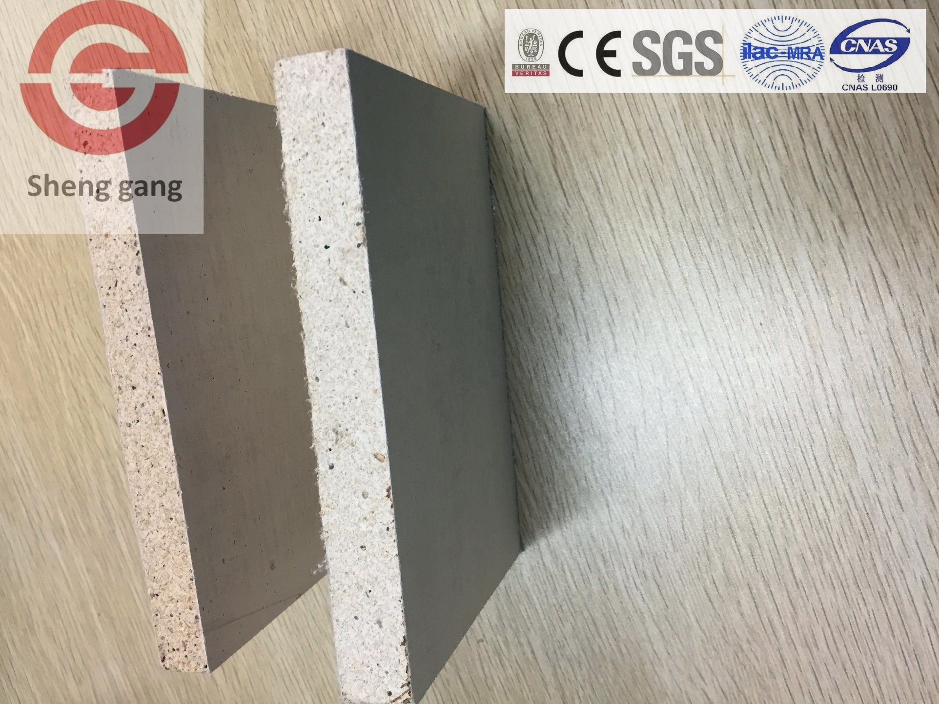 Light Weight Heat Resistant Fireproof Material Mgo Board For Fireplace