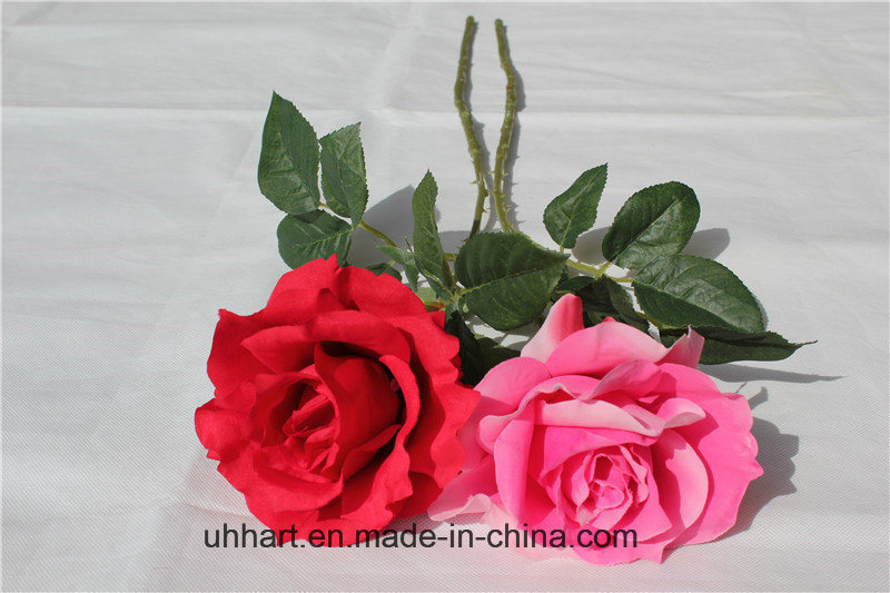 China Hot Sale Artificial Rose Wholesale Silk Flowers For Wedding