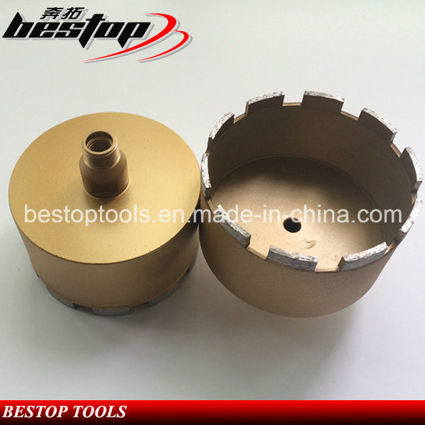 D120mm Wet Used Diamond Core Drill Bits for Granite Stone
