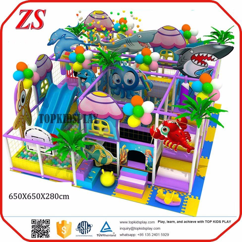 China Indoor Play Equipment For Kids Playground Fun Soft