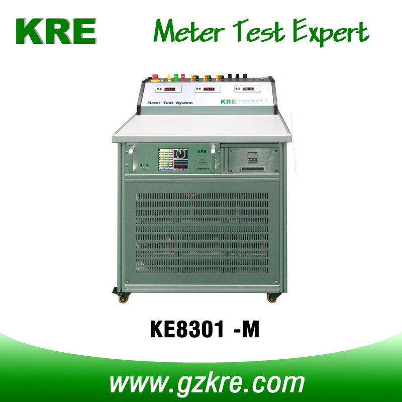 Class 0.05 3 Position Three Phase Energy Meter Test Bench According to IEC60736
