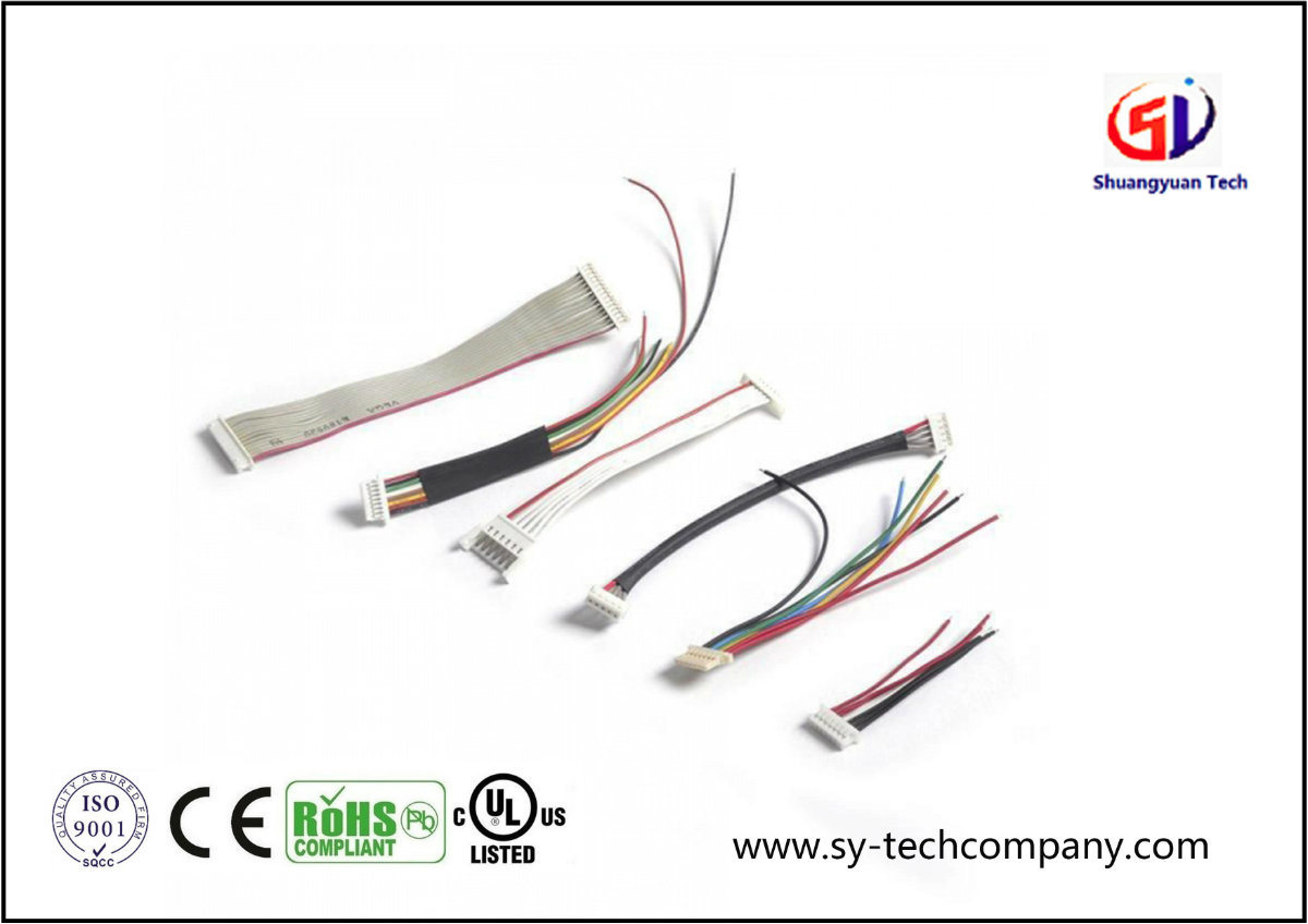 China Customized 15mm Pitch 6pin Wire Harness For Pcb Board Custom Built Wiring Cable Assembly