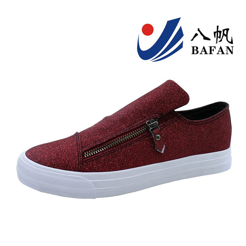 Shiny Leisure Slip on Shoes for Women Bf1701156