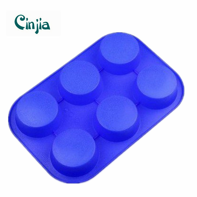 China 6 Round Silicone Cake Baking Mold Pan Mould