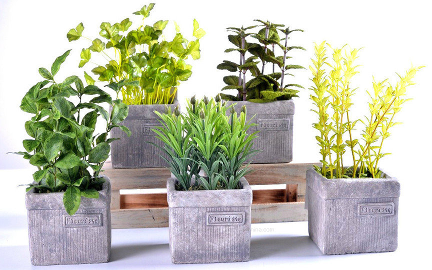 china kinds of artificial plants (thyme/rosemary/herbs/mint) in