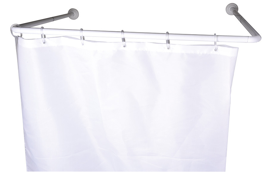 L Shape Aluminum Shower Curtain Rod pictures & photos