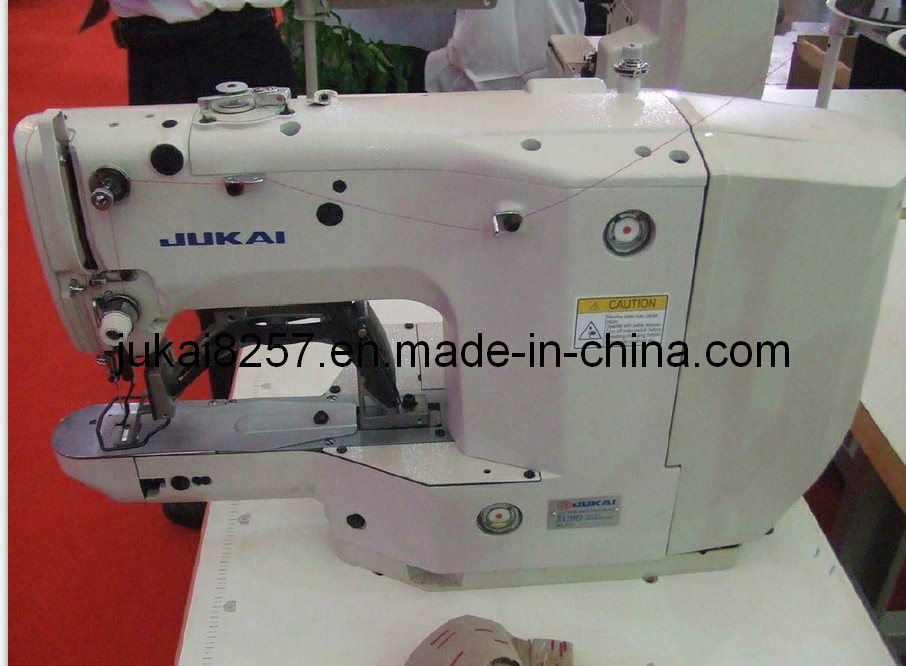 China Computer Controlled HighSpeed Bar Tacking Sewing Machine Stunning Jukai Sewing Machine