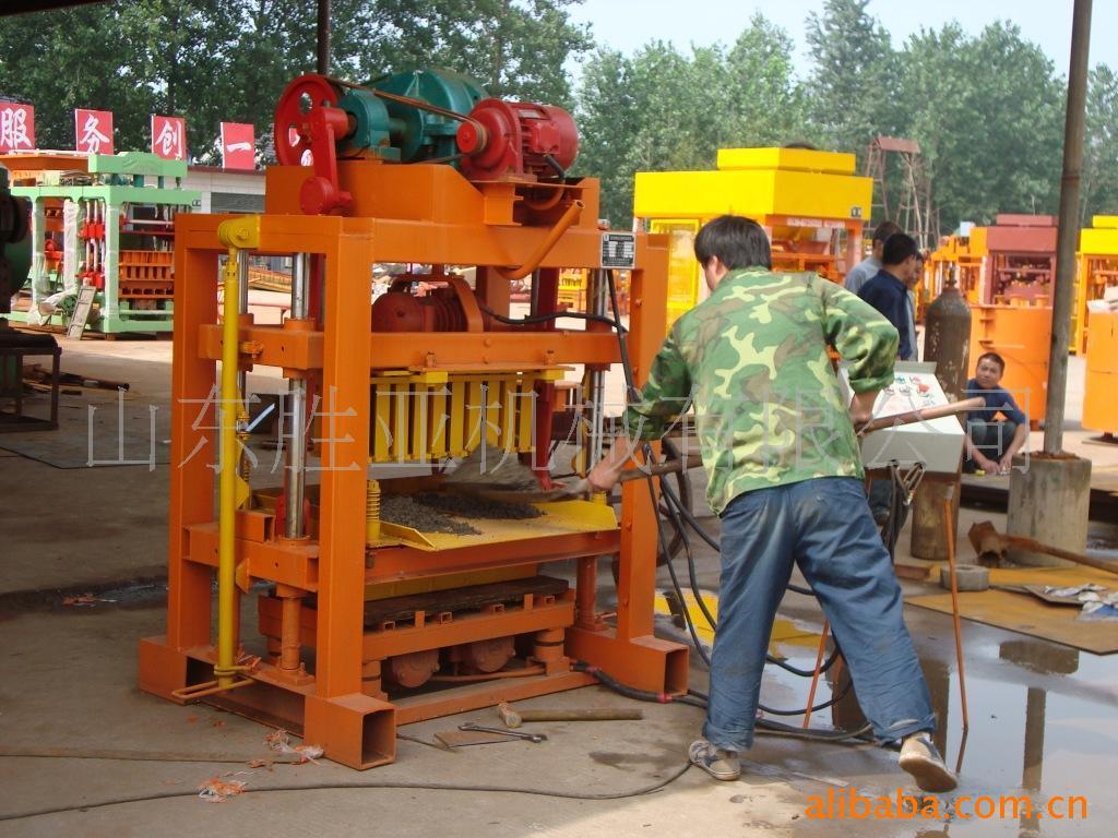 China Manual Concrete Block Making Machine Qtj4 40