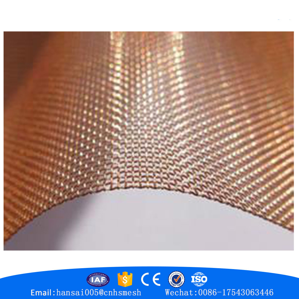 China Sell Well New Type Copper Red Woven Brass Copper Wire Mesh ...