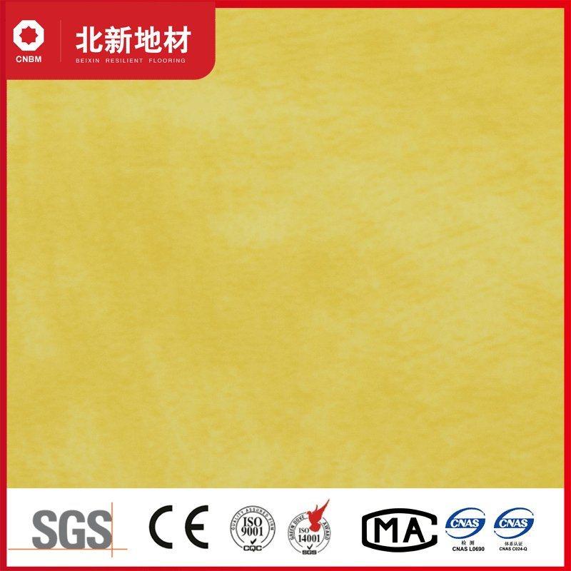 China Bright Yellow Pvc Vinyl Floor For Modern Office China