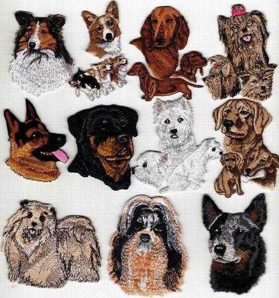 Free Dog Applique Designs