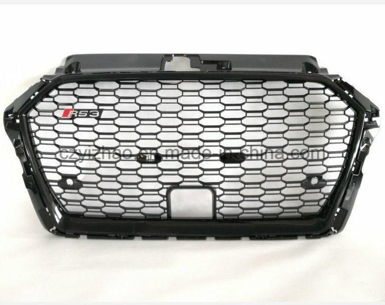 [Hot Item] ABS Plastic A3 Convert to RS3 Auto Grille for Audi A3 2015~2018