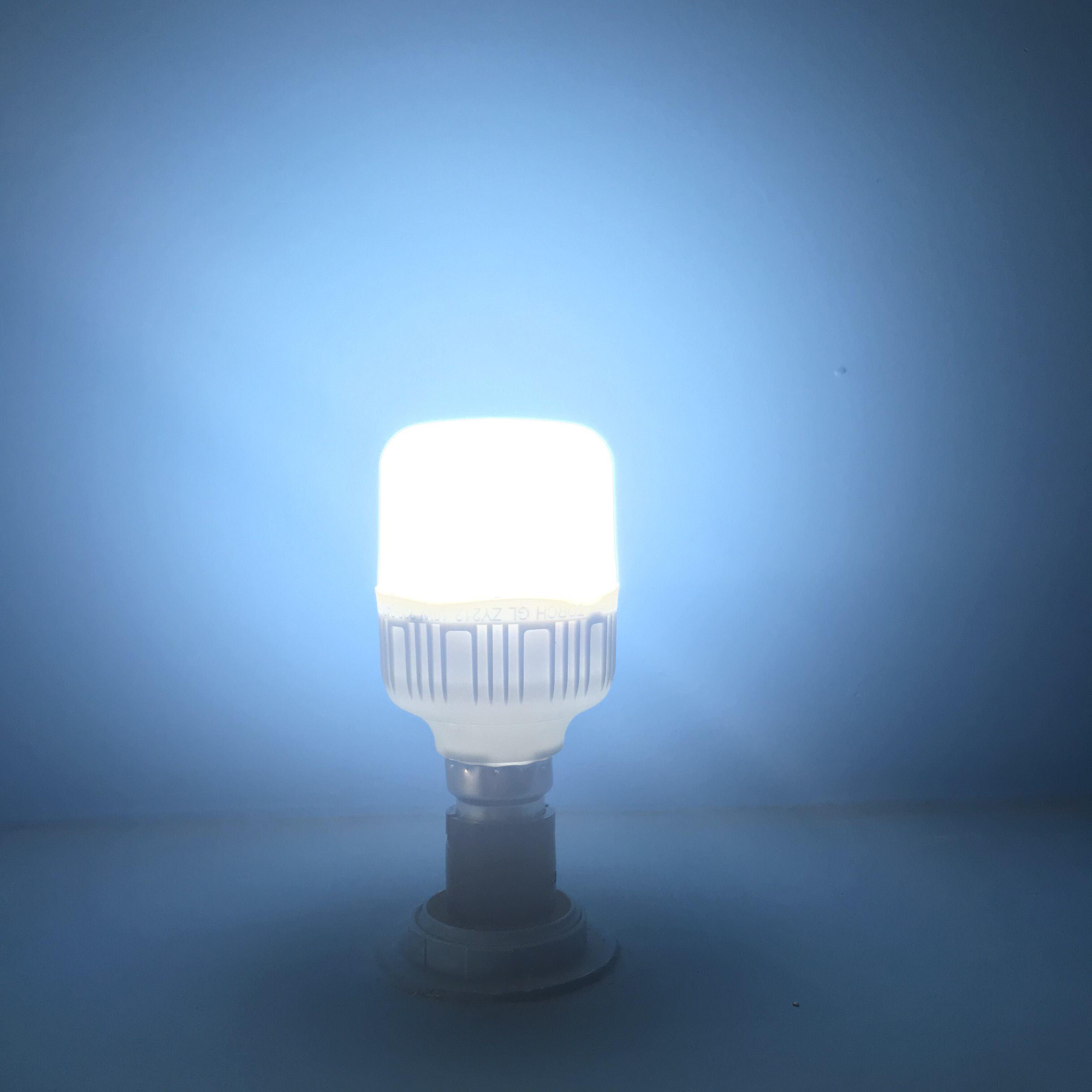 Blue Home light bulb