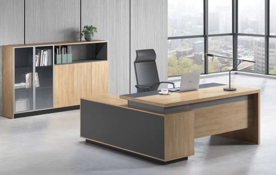 [Hot Item] CEO Luxury Modern Design Executive Office Desk, Commercial  Wooden Furniture