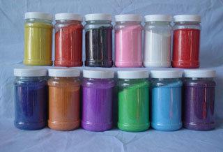 Pembuatan Pasir Warna