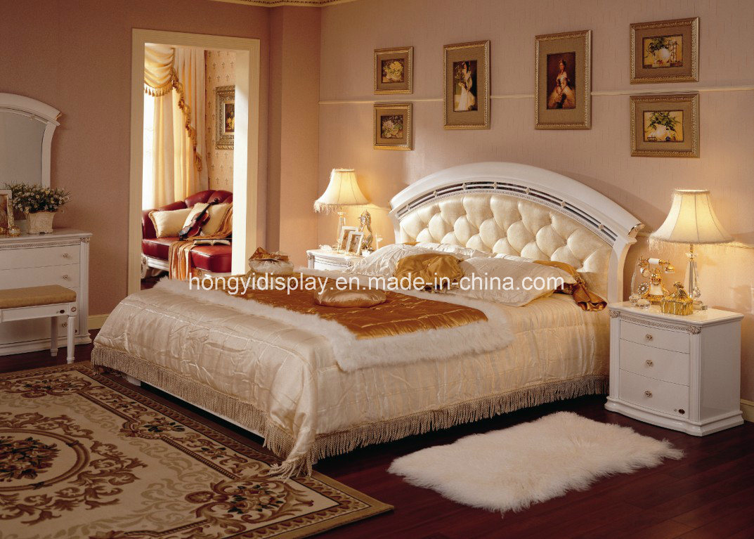 China Wholesale Hotel Furniture Latest Double Bed Designs Bedroom