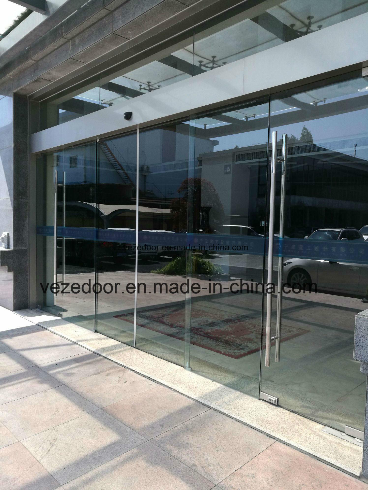China Auto Slide Glass Doorautomatic Slide Doorsensor Door China