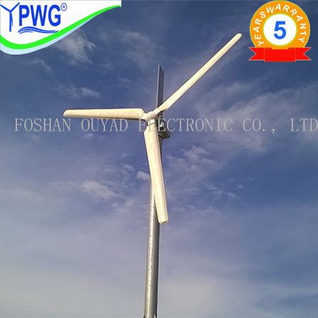 10kw Pitched Controlled Wind Power