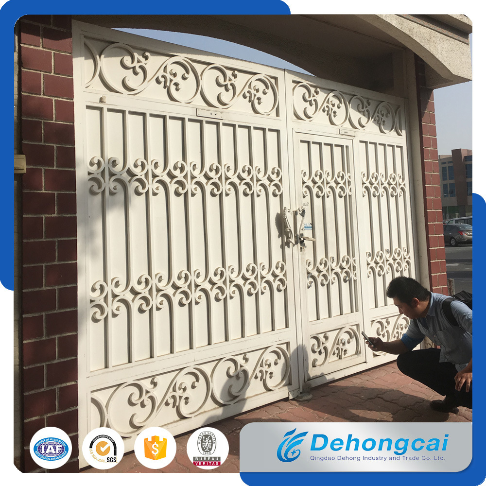 China Dubai Latest Used Beautiful House Main Wrought Iron Gate ...