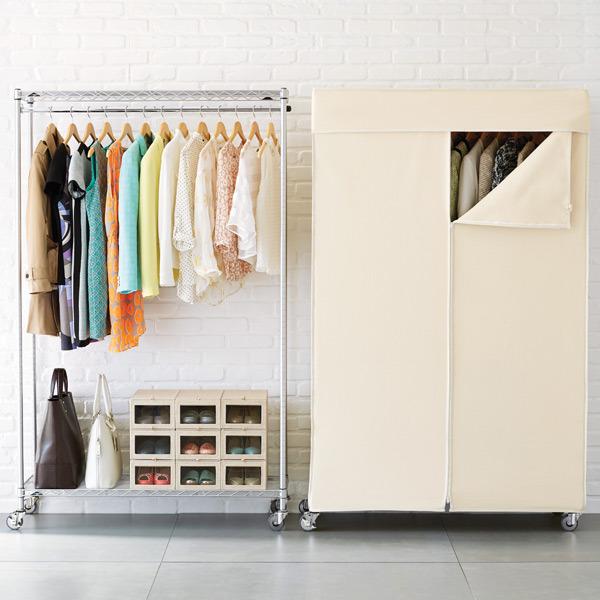 Rolling Garment Racks And Wardrobes
