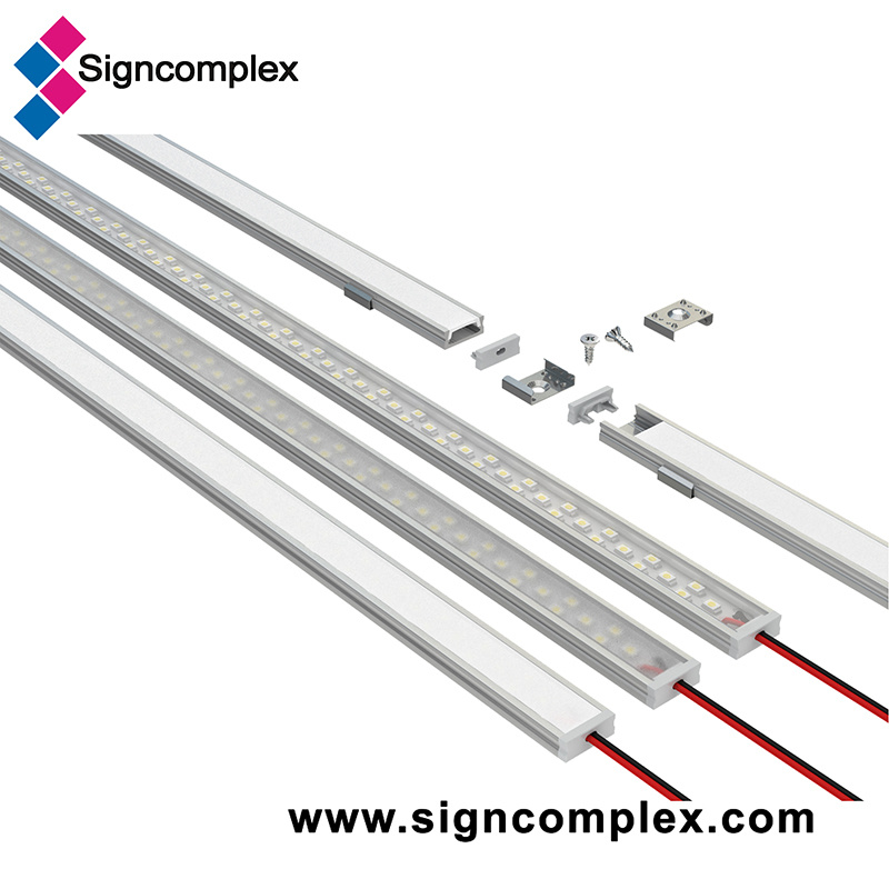 520/1020/2000/3000mm LED Aluminum Profile with CE RoHS pictures & photos