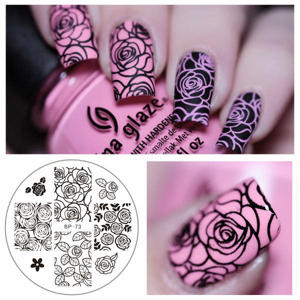 China Nail Art Stamping Plates Manicure Stencil Set - China Nail Art ...