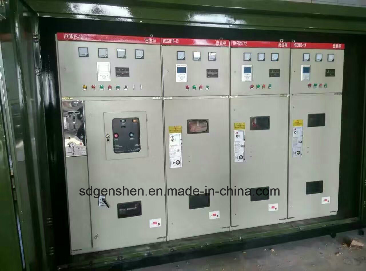 Hxgn 12 Type High Voltage Indoor AC Power Distribution/Control Enclosed Metal Switchgear