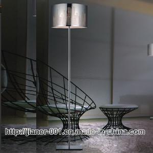 Standing Floor Lamp With Metal Shade