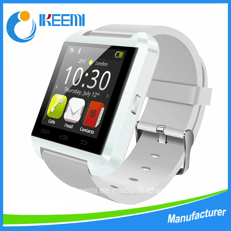 2016 Hot Sell Touch Screen U8 Smartwatch with Answer and Dial The Phone Bluetooth Photograph Altitude Meter pictures & photos