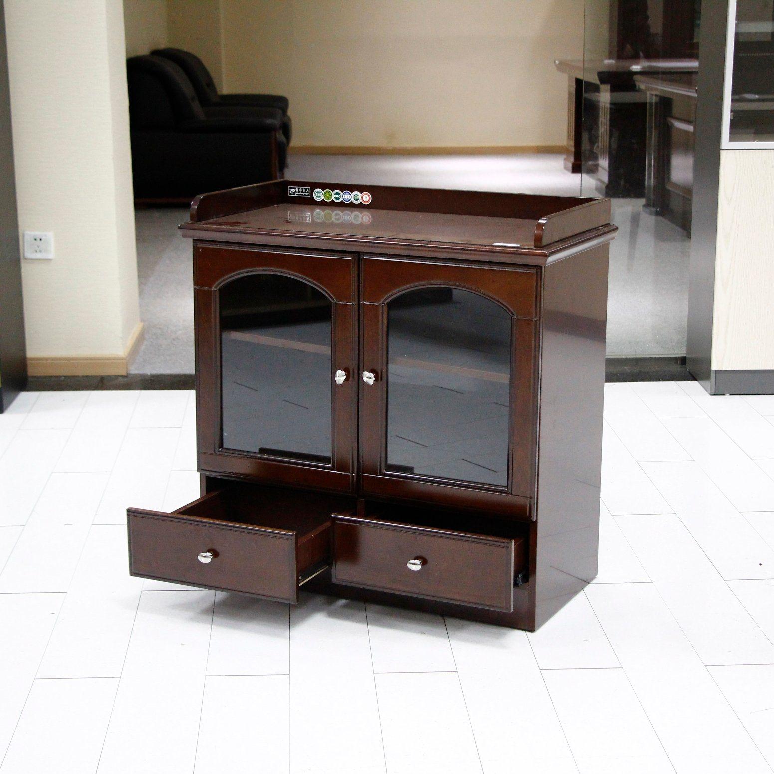 China Office Furniture Small Corner File/ Tea Cabinet Office