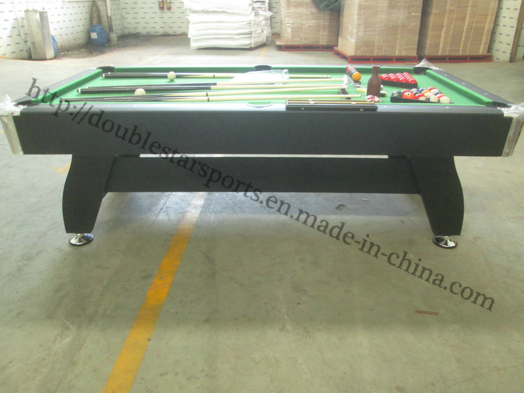 MDF Pool Table Billiard Table for Sale