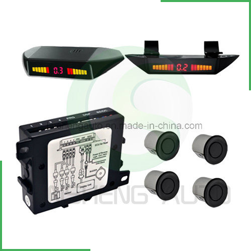 Car Parking Sensor with LED Display Three Position Installstion