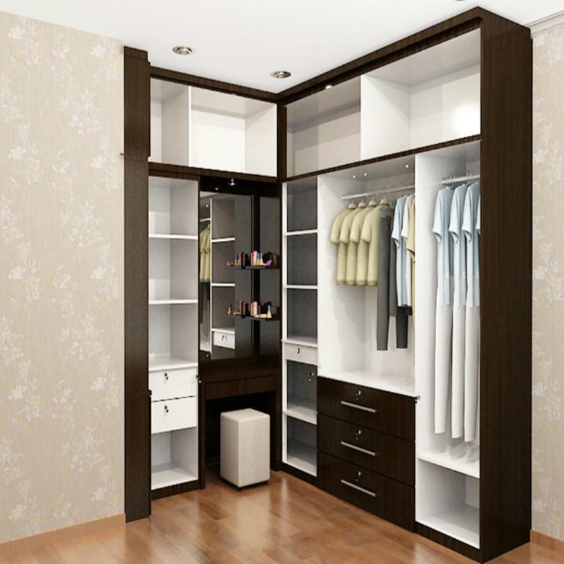 China L Shape Walk in Wardrobe for Master Bedroom - China ...