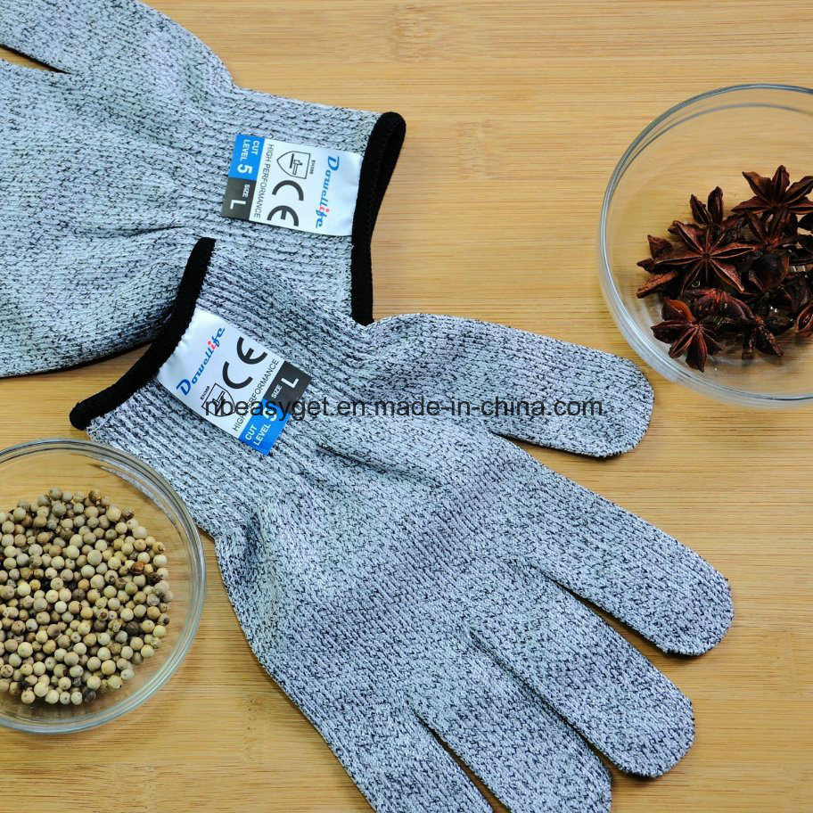 China Cut Resistant Gloves Food Grade Level 5 Protection, Safety ...