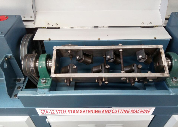 Top Quality Wire Straightening and Cutting Machine Gt 4-12 pictures & photos